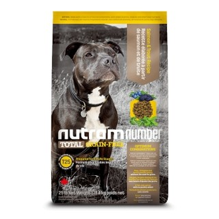 nutram 纽顿 T25 鲑鱼&鳟鱼配方犬粮 11.4kg