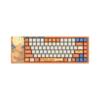 Akko 艾酷 ACG84 龙珠超 悟空 84键 有线机械键盘 橘色 Cherry红轴 无光