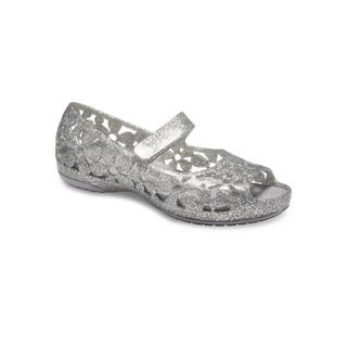 Crocs 卡骆驰 卡骆驰   花漾女童平底小凉鞋