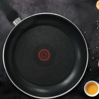 Tefal 特福 星钻系列 B28806 煎锅(28cm、不粘、铝、香槟粉红)