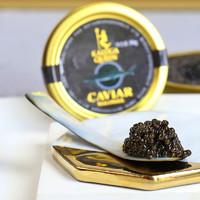 PLUS会员:卡露伽 年生西伯利亚鲟鱼子酱 30g