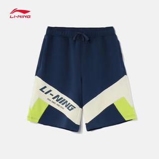 LI-NING 李宁 AKSR569 男款针织运动短裤