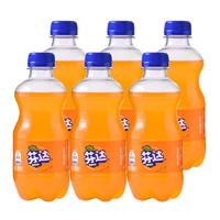 移动专享:Fanta 芬达 橙味汽水 碳酸饮料 300ml*6瓶