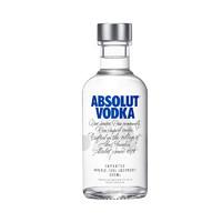 ABSOLUT VODKA 绝对伏特加 原味洋酒 200ml