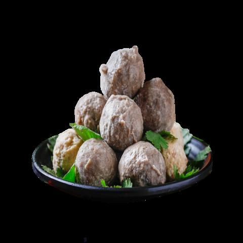 PLUS会员:恋食记 潮汕牛肉丸+牛筋丸+墨鱼丸 750g