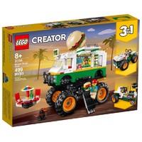 LEGO 乐高 创意百变系列 31104 汉堡包怪兽卡车
