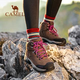 骆驼男鞋冬季靴子户外战术靴登山鞋男山地鞋防滑耐磨高帮鞋徒步鞋(42、A842026445/军绿/男)