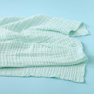 金号婴童全棉多层泡泡纱布童被宝宝盖毯 新初生婴幼儿柔软舒适A类(其他尺寸、兰1)