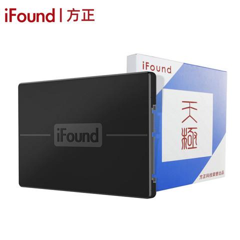 iFound 方正科技 方正ifound 120GB SSD固态硬盘 SATA3.0接口台式电脑笔记本硬盘 120G系列