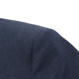 雅戈尔西服春秋新款商务休闲时尚男士羊毛蓝灰单西装外套正装2969(185/100A、蓝灰)
