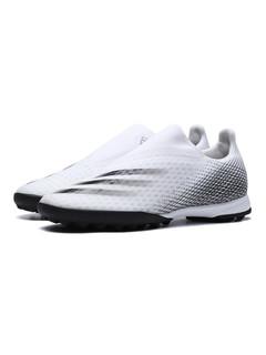 adidas 阿迪达斯 阿迪达斯男鞋足球鞋X GHOSTED.3 LL TF一脚蹬运动鞋EG8158