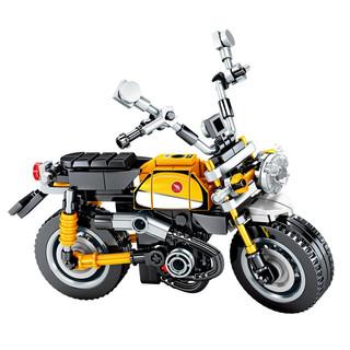 SEMBO BLOCK 森宝积木  机械密码系列 摩托车模型