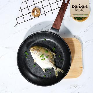 移动端 : EWIWE 英国 平底锅煎锅麦饭石色不粘锅 25cm