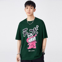 PEACEBIRD 太平鸟 BWDAB2562 蜡笔小新联名短袖T恤