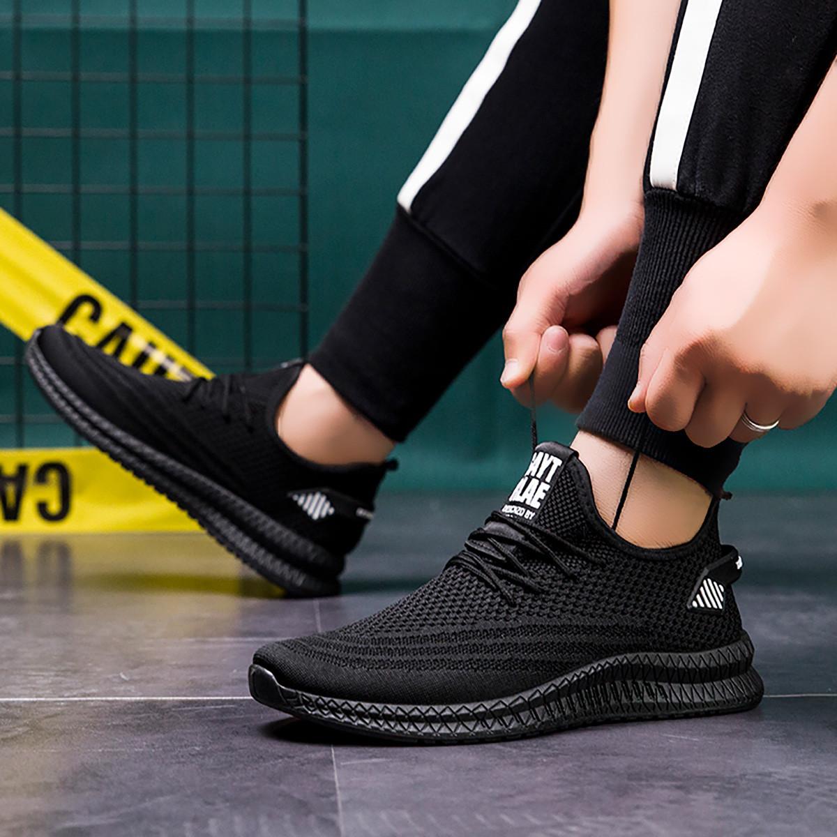 LXAP082 男士网面鞋