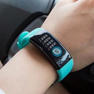 OLOEY zFQbNNTA 智能手环 健康绿 硅胶表带(血压、心电图)