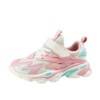 BoBDoG 巴布豆 萌趣潮童系列 BLN21521 儿童休闲运动鞋 浅粉红 26