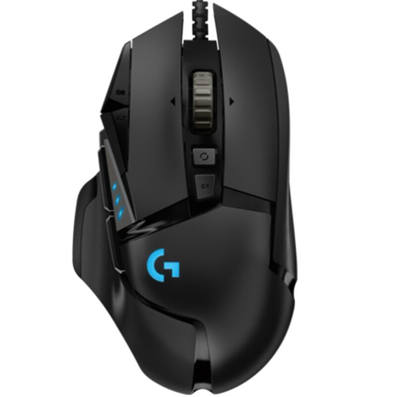 logitech 罗技 G502 HERO 有线鼠标 25600DPI  黑色