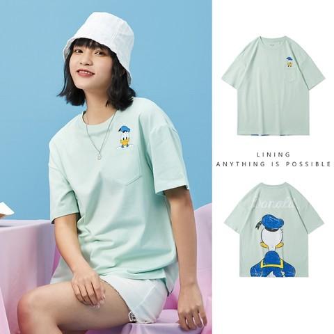 LI-NING 李宁 迪士尼联名系列 AHSR540 女士短袖T恤