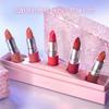 【520礼物】MAC/魅可情人节限定送女友口红唇膏套装套组礼盒(焰火限定子弹头 DUBONNET)