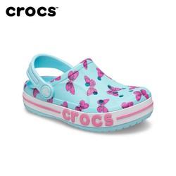 Crocs 卡骆驰 女童凉鞋卡骆驰男童女童儿童鞋沙滩洞洞拖鞋 206178
