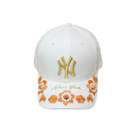 MLB 美国职棒大联盟 洋基队花朵刺绣鸭舌帽