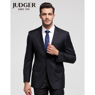 JUDGER 庄吉 JUDGER庄吉 断码清仓款 正装西服套装男上衣  羊毛混纺蚕丝便西服外套