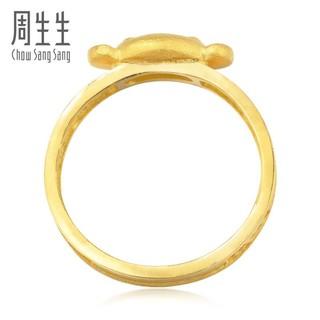 Chow Sang Sang 周生生 周生生 黄金戒指足金大眼猴(代代封侯)戒指 39047R 计价 09圈 - 3.19克(含工费70元)