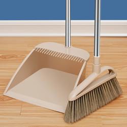 扫把套装扫帚家用簸箕组合扫地笤帚单个苕帚塑料软毛扫把不粘头发