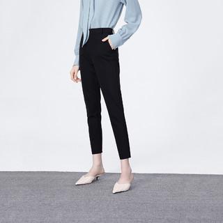 9日10点 : LILY 丽丽 120409C5968510 女士通勤修身休闲西装裤