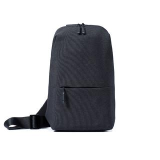 MI 小米 小米胸包单肩包男士斜跨包休闲男包多功能实用迷你运动腰包手提包
