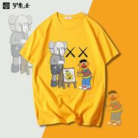 罗礼士 男款纯棉T恤 多款可选 S-4XL
