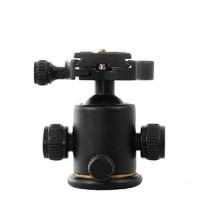 轻装时代Q03 单反相机三脚架球形云台 万向液压微锁阻尼标杆迷你手持云台相机稳定器微单