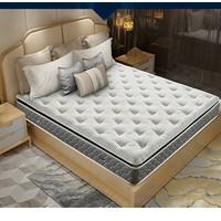 11日0点、黑卡会员:AIRLAND 雅兰 尔顿酒店总统版 乳胶弹簧床垫 180*200*25cm