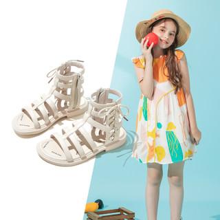 RED DRAGONFLY 红蜻蜓 女童韩版凉鞋