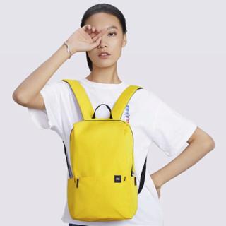 MI 小米 男女款炫彩小背包 黄色 20L