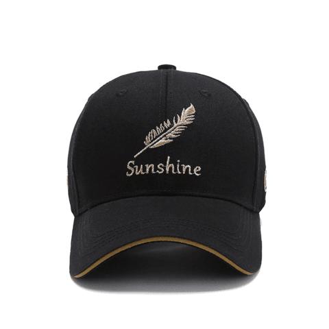 棒球帽鸭舌帽 黑色