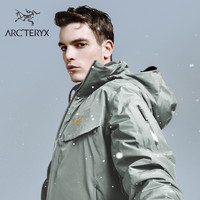ARC'TERYX始祖鸟 男子 GORE-TEX防水 MACAI JACKET 硬壳羽绒雪服(M、CNY Grey/牛年灰)