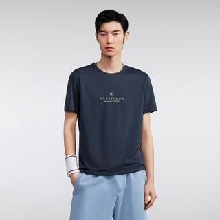 HLA 海澜之家 2021夏季新款男士轻薄透气舒适短袖T恤