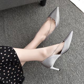 DAPHNE 达芙妮 B03008 优雅柔光织物单鞋