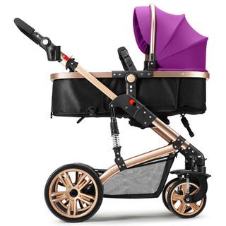 TEKNUM 661-8HT 婴儿推车 香槟紫