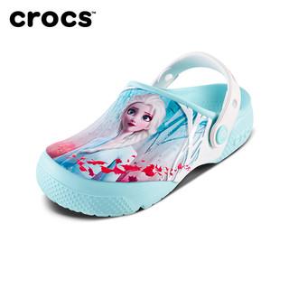 Crocs 卡骆驰 安娜公主女童凉鞋沙滩洞洞鞋|206167