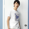 HLA 海澜之家 HNTBJ2D279AT9  男士时尚印花T恤