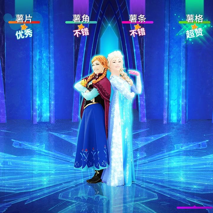 国行switch游戏标准版《舞力全开》五月更新Let It Go中文版《随它吧》