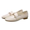 YEARCON 意尔康 女士方头单鞋  1711DB08612WT