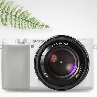 SONY 索尼 E 50mm F1.8 OSS 标准定焦镜头 索尼E卡口 49mm 黑色