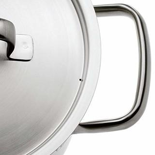 WMF 福腾宝 Gourmet Plus系列 锅具4件套(不锈钢、银色)