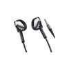 Lenovo 联想 QF710 半入耳式有线降噪耳机 科技黑