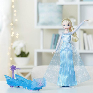 Hasbro 孩之宝 冰雪奇缘雪橇历险 E0086 艾莎 手办