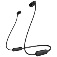 SONY 索尼 WI-C200 入耳式颈挂式蓝牙耳机 黑色